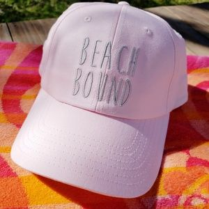 cfe6ac84eb4b6d Accessory Depot Accessories - Beach Bound Pink Baseball Cap Beach Cute Sun  Hat